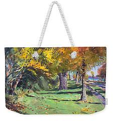 Fall In Goat Island Weekender Tote Bag