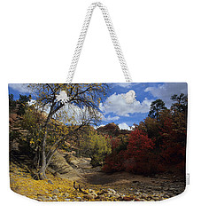 Fall In Zion High Country Weekender Tote Bag