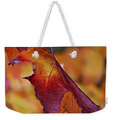 Fall Leaf Weekender Tote Bag