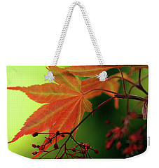 Fall Leaves Weekender Tote Bag by Michelle Joseph-Long
