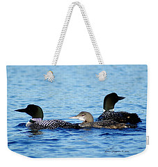 Family Swim 2 Weekender Tote Bag by Steven Clipperton