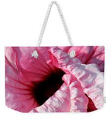 Fancy Hibiscus Weekender Tote Bag