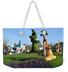 Fantasia In Flowers Weekender Tote Bag by Bonnie Myszka