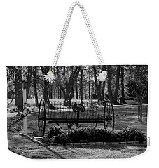 Weekender Tote Bag featuring the photograph Farm Antique by Karen Harrison