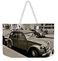Weekender Tote Bag featuring the photograph Favored Car by Eric Tressler