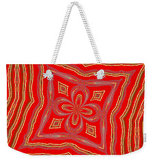 Favorite Red Pillow Weekender Tote Bag by Alec Drake