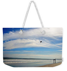February Beach Weekender Tote Bag