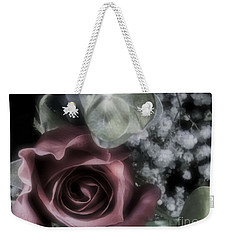 Weekender Tote Bag featuring the photograph Feel My Breath by Janie Johnson