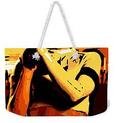 Female Warrior Weekender Tote Bag