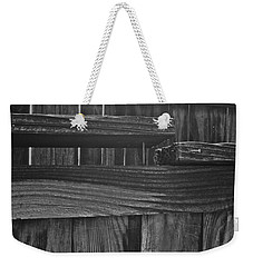 Fence To Nowhere Weekender Tote Bag by Bill Owen