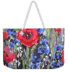 Field Of Dreams Weekender Tote Bag by Sandra Strohschein
