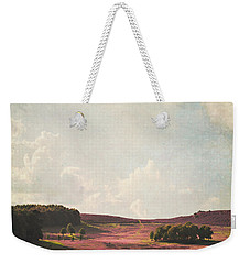 Fields Of Heather Weekender Tote Bag
