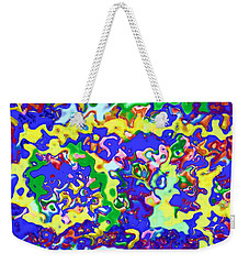 Fiesta In San Antonio Weekender Tote Bag by Alec Drake