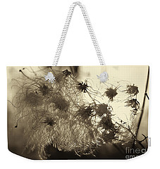 Filaments Weekender Tote Bag by Eunice Gibb