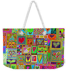 find U'r Love found    v15 Weekender Tote Bag