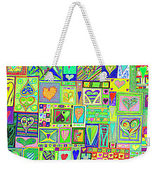 find U'r Love found    v18 Weekender Tote Bag