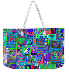 find U'r Love found    v13 Weekender Tote Bag