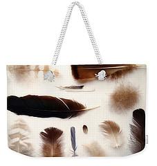 Finding Feathers Weekender Tote Bag