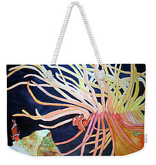 Weekender Tote Bag featuring the painting Finding Nemo by Laurel Best
