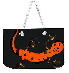 Fire Belly Newt Weekender Tote Bag