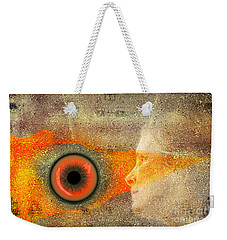 Fire Look Weekender Tote Bag by Rosa Cobos