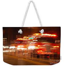 Fire Truck Weekender Tote Bag by Micah May