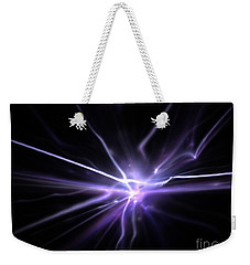 Weekender Tote Bag featuring the digital art Firefly by Kim Sy Ok