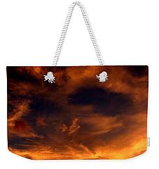 Firesky Weekender Tote Bag