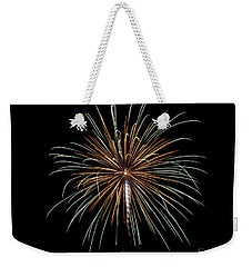 Weekender Tote Bag featuring the photograph Fireworks 10 by Mark Dodd