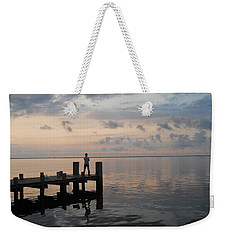 Weekender Tote Bag featuring the photograph First Light by Clara Sue Beym