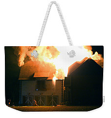 Weekender Tote Bag featuring the photograph First Responders by Daniel Reed