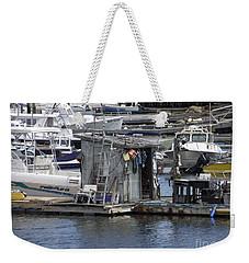Fish Shack Weekender Tote Bag