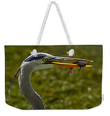Fishing For A Living Weekender Tote Bag by Tony Beck