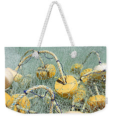 Fishing Nets And Weights Weekender Tote Bag
