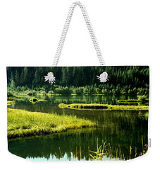 Fishing The Still Water Weekender Tote Bag