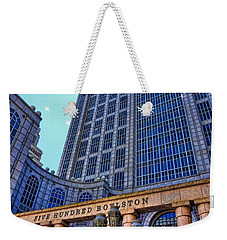 Five Hundred Boylston - Boston Architecture Weekender Tote Bag
