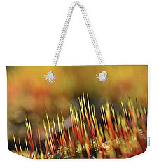 Flaming Moss Weekender Tote Bag