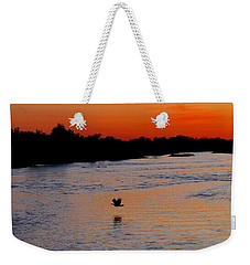 Weekender Tote Bag featuring the photograph Flight Of The Turkey by Elizabeth Winter