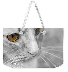 Flitwick The Cat Weekender Tote Bag by Jeannette Hunt