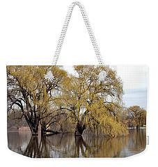 Flooded Trees Weekender Tote Bag