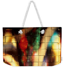 Weekender Tote Bag featuring the photograph Floral Abstract II by Sharon Elliott