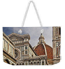 Weekender Tote Bag featuring the photograph Florence Duomo by Steven Sparks
