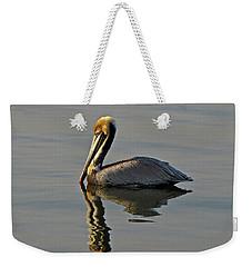 Florida Pelican Weekender Tote Bag
