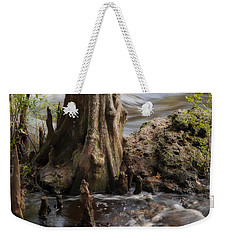 Weekender Tote Bag featuring the photograph Florida Rapids by Steven Sparks