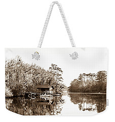 Weekender Tote Bag featuring the photograph Florida by Shannon Harrington