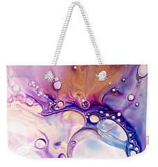 Weekender Tote Bag featuring the photograph Fluidism Aspect 601 Photography by Robert Kernodle