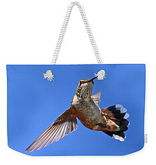 Flying Backwards - No Problem Weekender Tote Bag