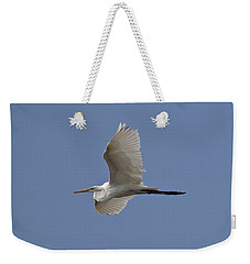Flying Egret Weekender Tote Bag by Jeannette Hunt