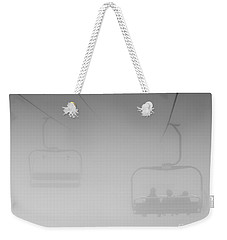 Weekender Tote Bag featuring the photograph Fog by Eunice Gibb