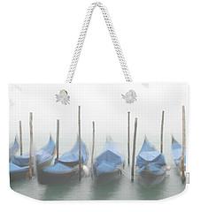Foggy Morning Grand Canal Weekender Tote Bag